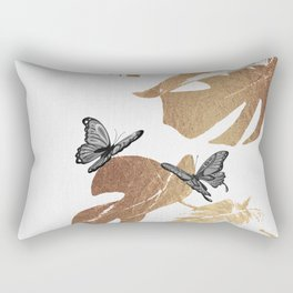 Fluttering Nature I Rectangular Pillow