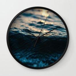 Light Reflection Wall Clock