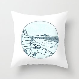Frary Peak Throw Pillow