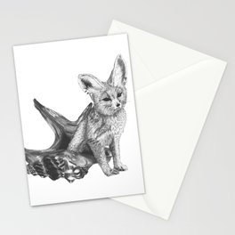 Combinations #4 - Fox / Hermit Crab Stationery Cards