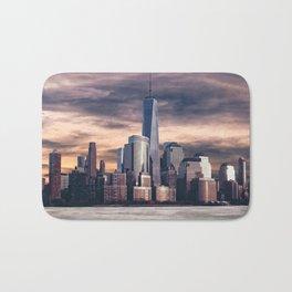 Dramatic City Skyline - NYC Bath Mat