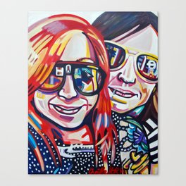Matching Sunnies Canvas Print