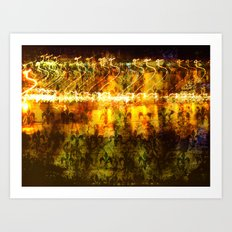 Vintage Lights Art Print