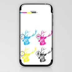 Unnatural Colors iPhone & iPod Skin