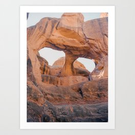 Fiery Furnace, Arches National Park Art Print