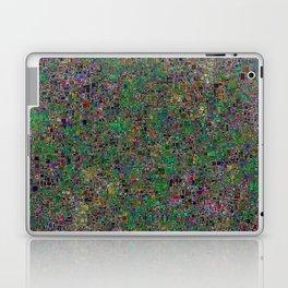 Mini Green and Purple Mini Mosaic Tile Laptop & iPad Skin