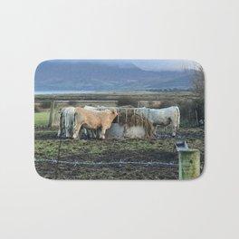 Cows Lunch Kerry Ireland Bath Mat
