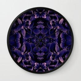 Purple Hues Wall Clock