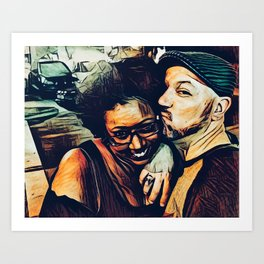 Fausto and Candice Art Print