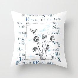 Gri-gris Throw Pillow
