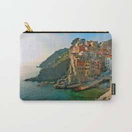 Italy. Cinque Terre - Canal side Carry-All Pouch