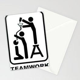 Keg Stand Teamwork Stationery Cards