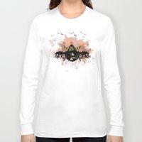 pilot Long Sleeve T-shirts featuring War Pilot by MaNia Creations