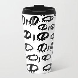 Eyes Metal Travel Mug