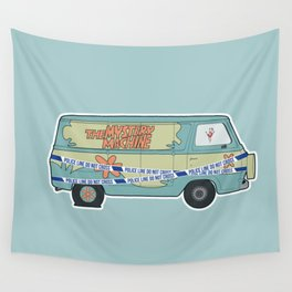 Busted: Mystery Machine Wall Tapestry