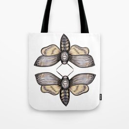 Death's Head Hawkmoth Pattern - Katrina Niswander Tote Bag