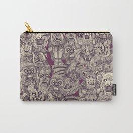 gargoyles purple Carry-All Pouch