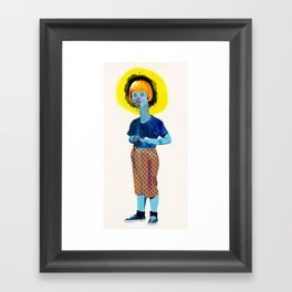 The Kid Framed Art Print