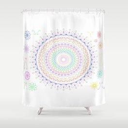 Hippi Mandala Shower Curtain