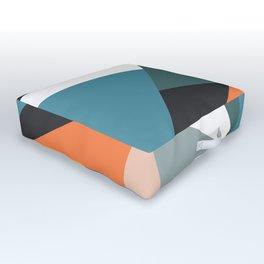 Modern Geometric 36 Outdoor Floor Cushion