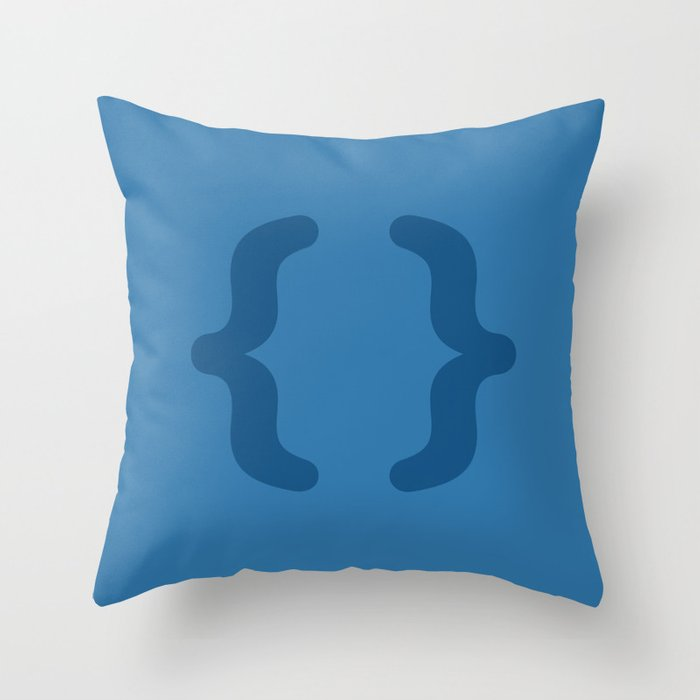 CSS - Code Icons Throw Pillow