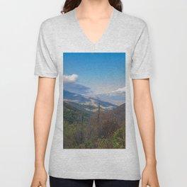 Blue Ridge Peaks Unisex V-Neck