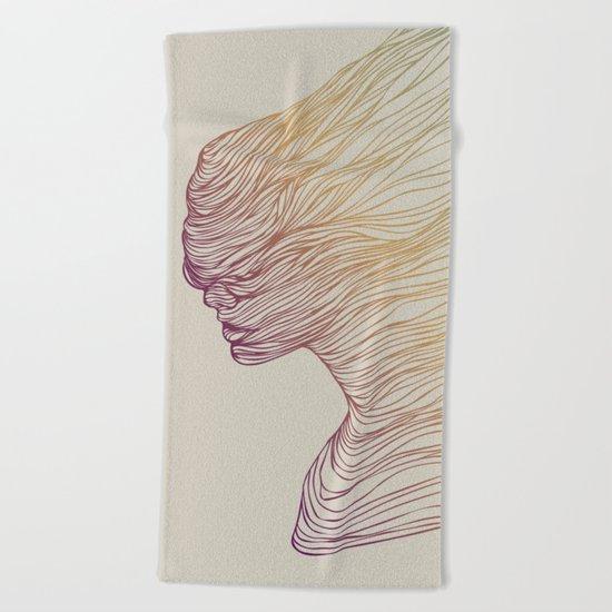 FADE Beach Towel