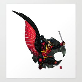 Red Robin : Robin Legacy Art Print