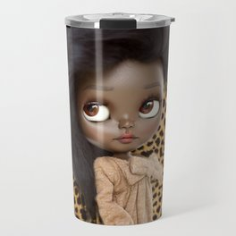 ERREGIRO BLYTHE CUSTOM DOLL ANIMAL PRINT JANET Travel Mug