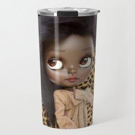 ERREGIRO BLYTHE CUSTOM DOLL ANIMAL PRINT JANET Travel Mug