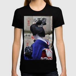 Geisha Maiko Photo T-shirt