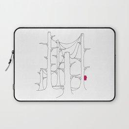 Telegraph pole forest. Laptop Sleeve