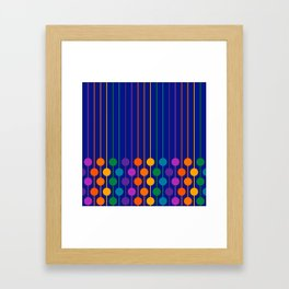 Boardwalk Sixlet Framed Art Print