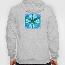 Boho Blue Bloom Hoody