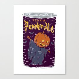 Pumpkin Ale Canvas Print