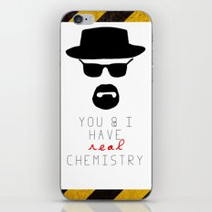 HEISENBERG BREAKING BAD Real Chemistry iPhone & iPod Skin