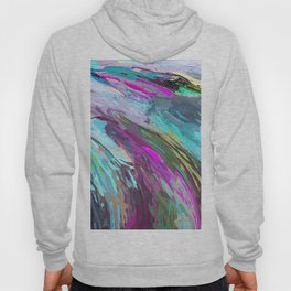 471 - Abstract colour Design Hoody
