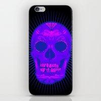 calavera iPhone & iPod Skins featuring Calavera by Joe Baron
