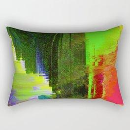 Memories of Green Rectangular Pillow