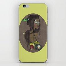 Girl with Camera iPhone & iPod Skin