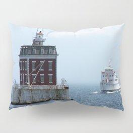 New London Ledge Lighthouse Pillow Sham