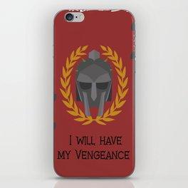 Vengeance iPhone Skin