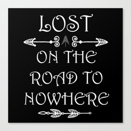 Lost Nowhere Canvas Print
