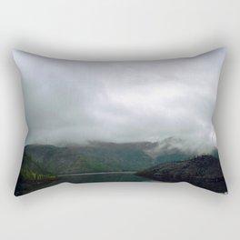 Silver Sky Rectangular Pillow