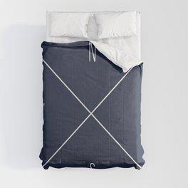 Navy Compass Comforters