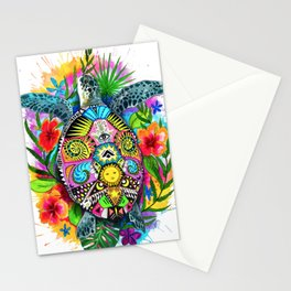 Turtle Hawaii Stationery Cards