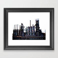 Bethlehem Steel Blast Furnace 2 Framed Art Print
