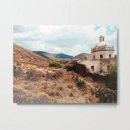 church in the desert Metal Print