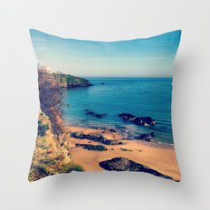 Ripples Of The Ocean Throw Pillow