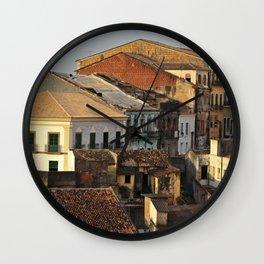 Pelourinho - Salvador - Brasil Wall Clock